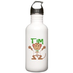 Little Monkey Tim Water Bottle
