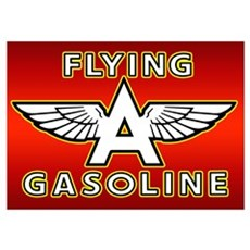Flying A Gasoline Poster