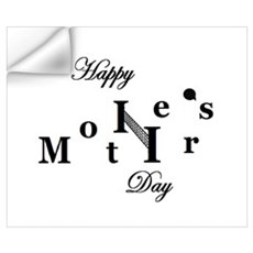 HAPPY MOTHER'S DAY VOLLEY BAL Wall Decal