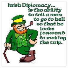 Irish Deplomacy Poster
