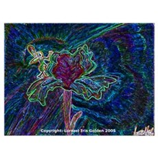 Iris Faery/NightGlow Poster