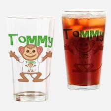 Little Monkey Tommy Drinking Glass