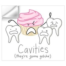 Cavities Wall Decal