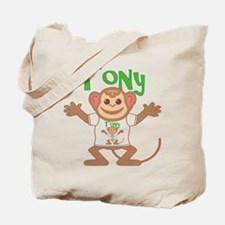 Little Monkey Tony Tote Bag