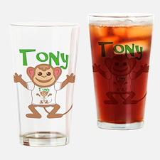 Little Monkey Tony Drinking Glass