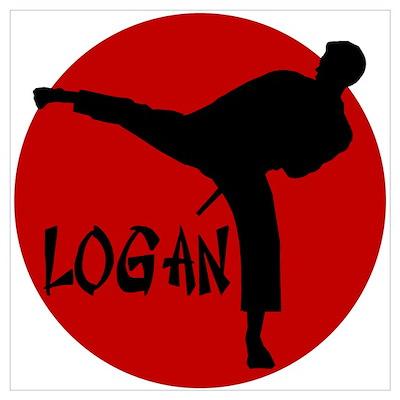 Logan Karate Poster