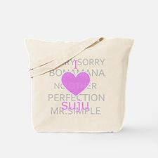 I luv suju Tote Bag