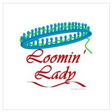 Loomin' Lady Poster
