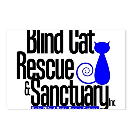 Blind Cat Rescue & Sanctuary Postcards (Package of