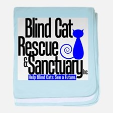 Blind Cat Rescue & Sanctuary baby blanket