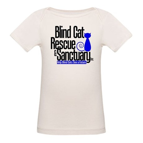 Blind Cat Rescue & Sanctuary Organic Baby T-Shirt