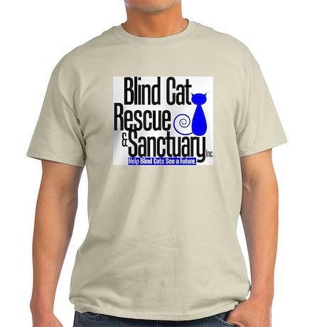 Blind Cat Rescue & Sanctuary Light T-Shirt