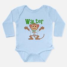 Little Monkey Walter Long Sleeve Infant Bodysuit