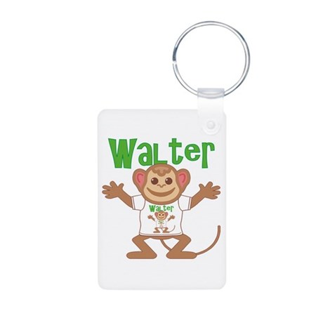 Little Monkey Walter Aluminum Photo Keychain