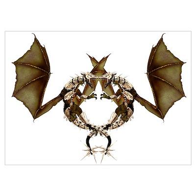 Gemini Twins, Dragons of War Poster