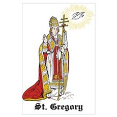 St. Gregory Poster
