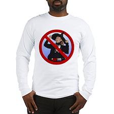 No Hillary Long Sleeve T-Shirt