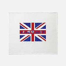 Flag UK Throw Blanket