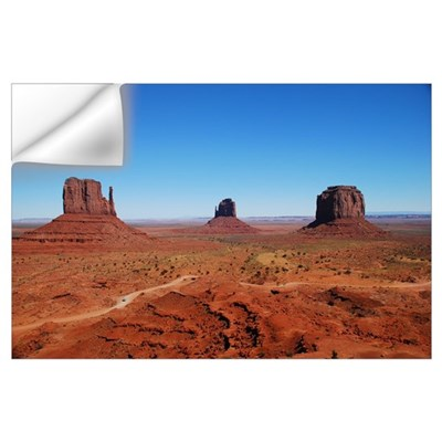 Monument Valley Entrance Wall Decal