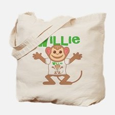 Little Monkey Willie Tote Bag
