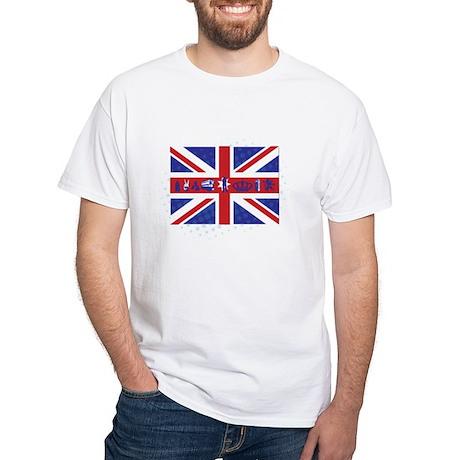 Flag UK White T-Shirt
