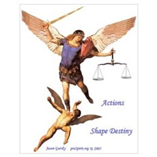 Archangel Michael -5- 16x19 Poster
