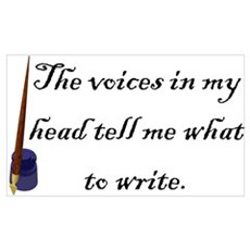 Writing Voices Poster