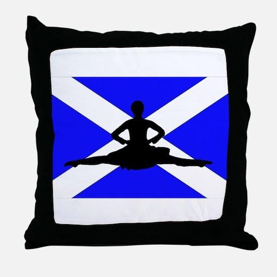 Scotland Leap Throw Pillow