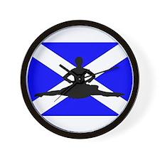 Scotland Leap Wall Clock