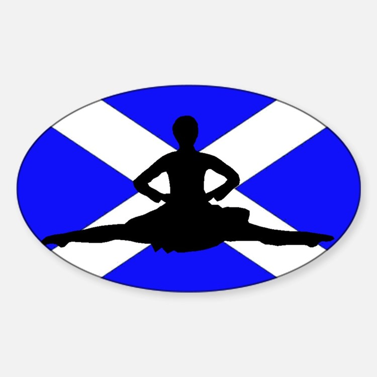 Scotland Leap Decal