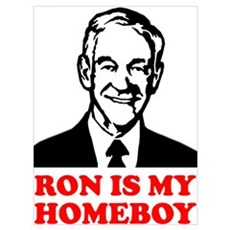 Ron Is My Homeboy Framed Print