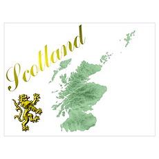 Best Family Scottish Designs. Poster