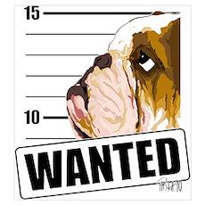 Bulldog Wanted Poster