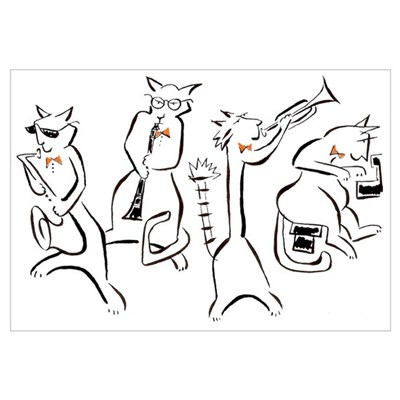 Cool Cats Poster