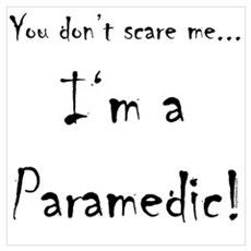 You don't scare me...Paramedic Poster