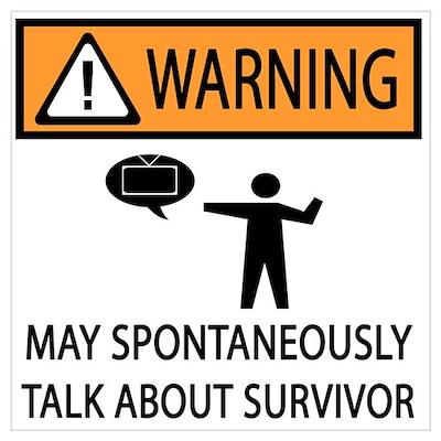 Spontaneously Talk Survivor Poster