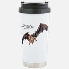 Mexican Free-Tailed Bat Stainless Steel Travel Mug