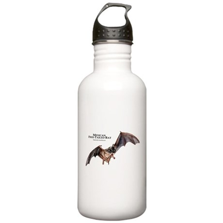 Mexican Free-Tailed Bat Stainless Water Bottle 1.0