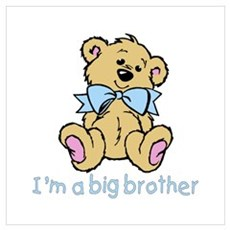 Baby Bear Big Brother Poster