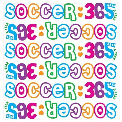 365 Outcast Soccer Poster