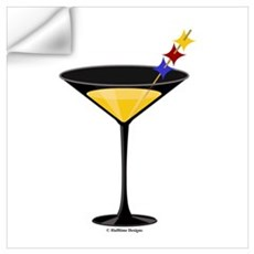 Steelertini Wall Decal