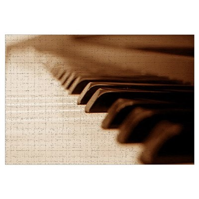 The Piano Canvas Art