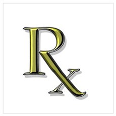 Pharmacy Rx Poster