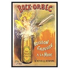 Bock Orbec Vintage Poster