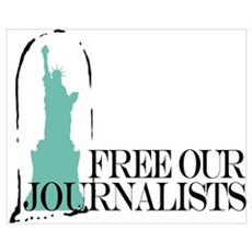 Free Our Journalists Framed Print