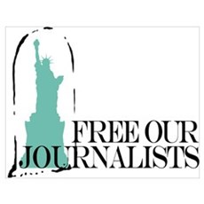 Free Our Journalists Poster