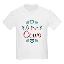 I Love Cows T-Shirt