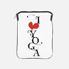 I heart YOGA iPad Sleeve