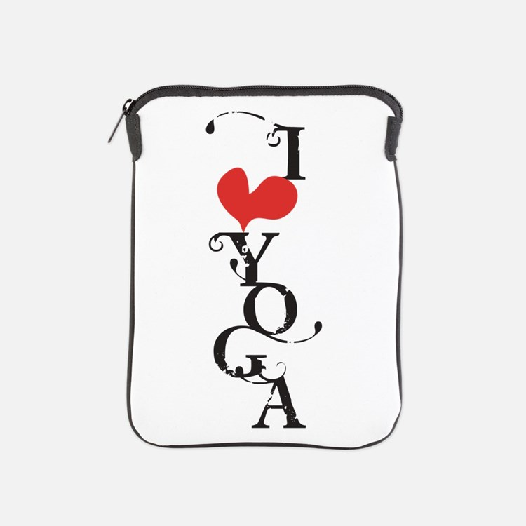 I heart YOGA iPad Sleeve