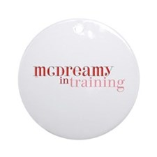 McDreamy in Training Ornament (Round)